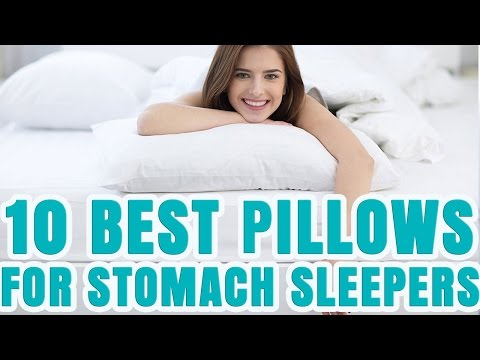Best Pillow For Stomach Sleepers 2017  TOP 10 Stomach ...