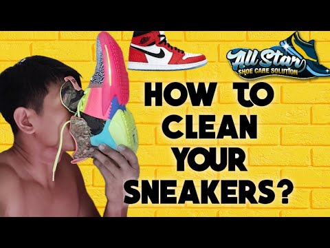 How to clean your shoes? All Star Shoe Care Solution