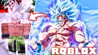 Update! DRAGON BALL HYPER BLOOD IN ROBLOX NEW BROLY MUI FILM IN THE TOURNAMENT OF POWER
