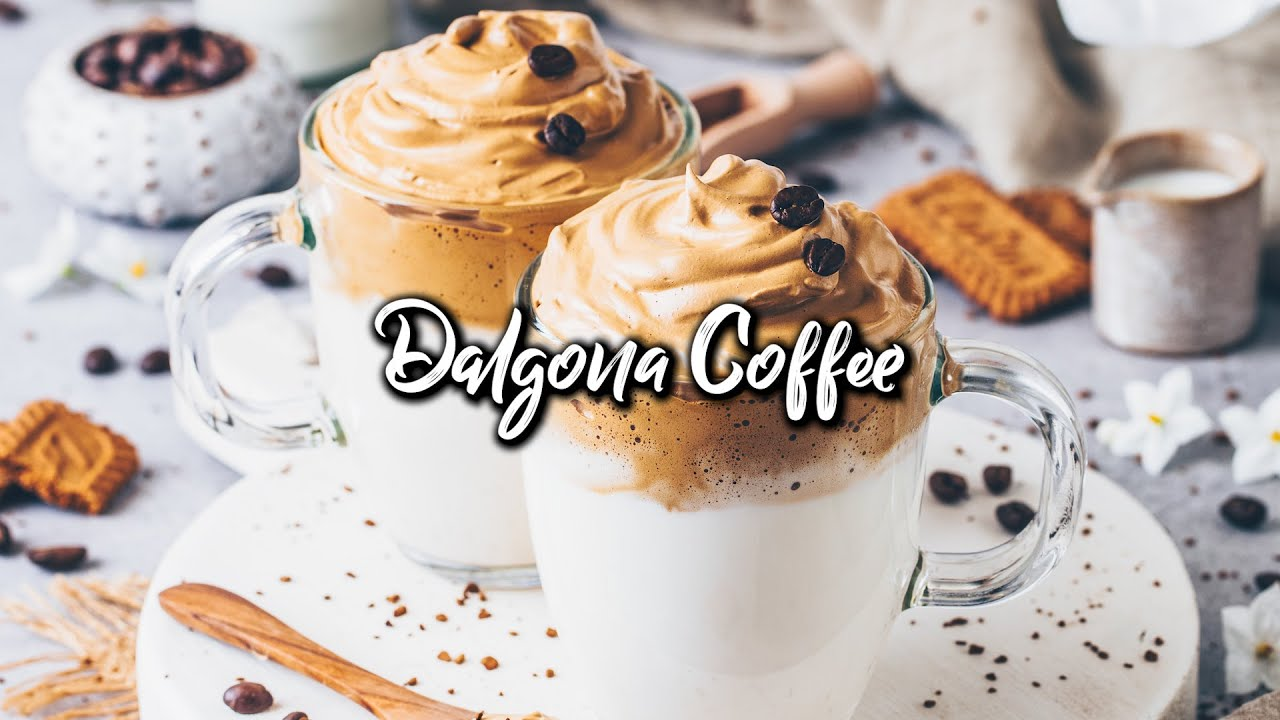 Dalgona Coffee - Whipped Coffee * Recipe