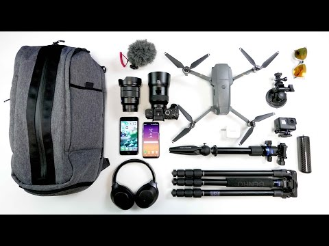 THE ULTIMATE TECH TRAVEL BAG - West Coast Projects - Ep. 11