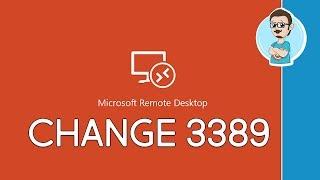 Windows | Change RDP Listening Port!