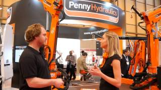 Penny Hydraulics Launch New PH Cranes at The Commercial Vehicle Show 2015
