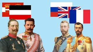 видео Антанта. Союз Великобритании, Франции и России