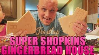 SHOPKINS GINGERBREAD HOUSE!