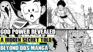 Beyond Dragon Ball Super: God Of Destruction Power Revealed! Secrets Of The Pharaoh And Taima Told