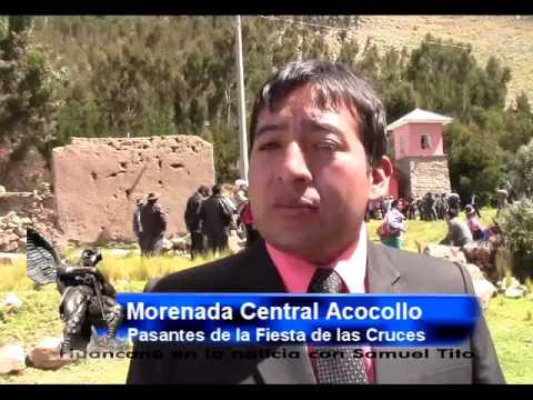 Fiesta de las Cruces 2015 - Acocollo - Huancané - Puno - Perú