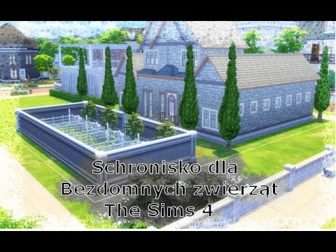 the sims 4 psy i koty budowa schroniska dla zwierz t youtube. Black Bedroom Furniture Sets. Home Design Ideas