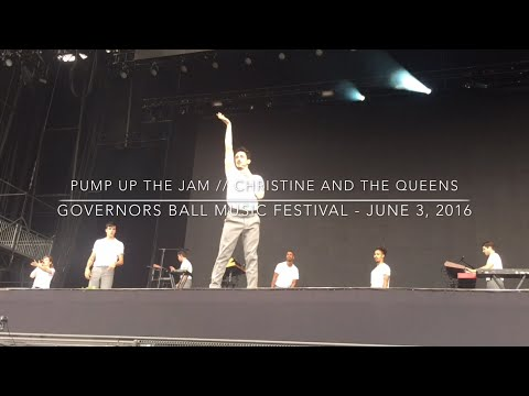 Pump Up The Jam - Christine and the Queens @ The Governors Ball Music Festival // June 3, 2016
