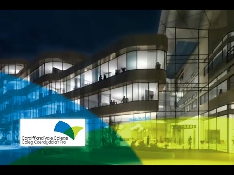 CAVC: Cardiff And Vale College - New City Centre Campus (External View)
