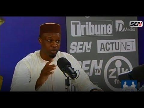 Quand Ousmane Sonko chante en direct à la télé