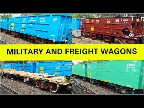 MILITARY & Freight Wagons of BESCO- BOXNHL,BOXNHS,BOBYN,BRSTN,BRNA [Full HD]
