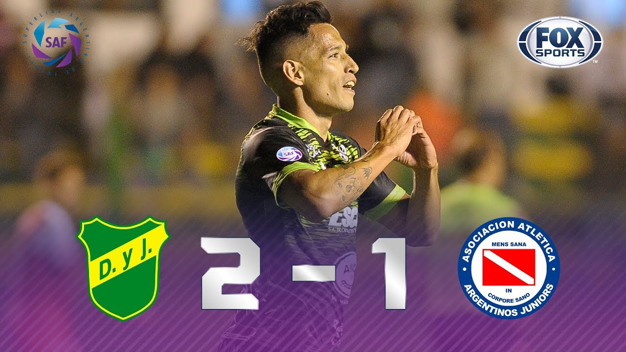 Defensa y Justicia -  Argentinos Juniors [2-1] | GOLES | Superliga Argentina Fecha 18 | FOX Sports