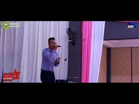 Juara Pertama Bintang radio Indonesia Asean Kab. Sanggau