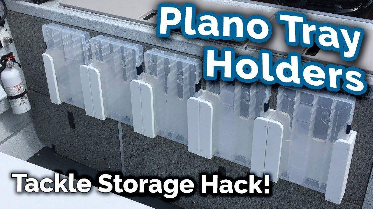Plano Tray Holders Tackle Storage For Your Boat Youtube