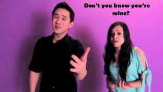 It girl - Cover by Megan Nicole and Jason Chen (Lyrics)