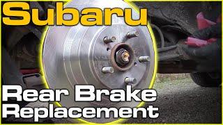 Subaru Outback Rear Brakes