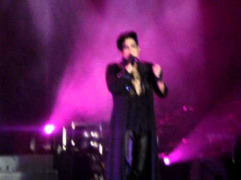 Adam Lambert Live in NZ: Whataya Want From Me/Soaked