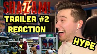 SHAZAM! - Official Trailer 2 REACTION!!  (New Shazam Trailer) HYPE