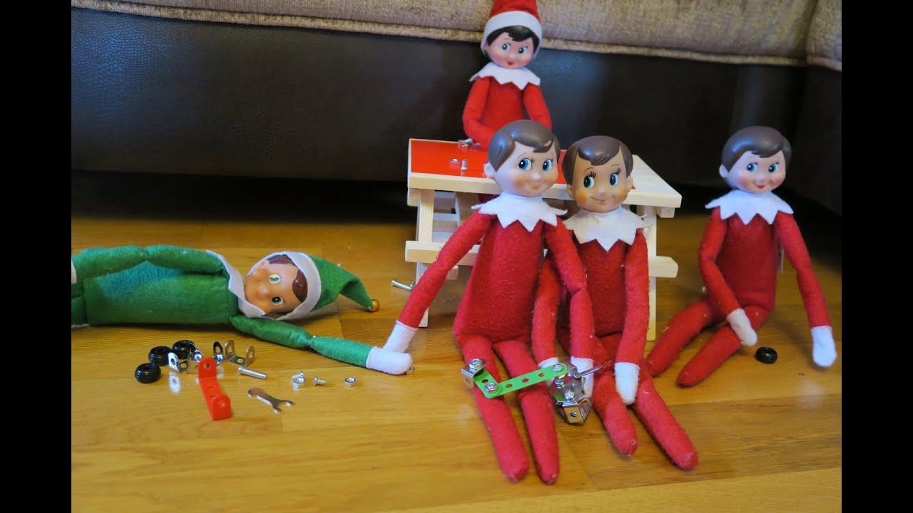 Elf On The Shelf Building Toys Youtube