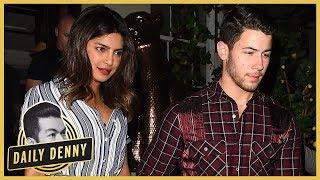 Priyanka Chopra and Nick Jonas Hit The Town With Joe Jonas and Sophie Turner   Daily Denny