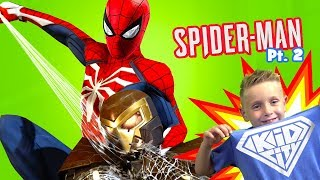 Let's play Marvel's Spider-Man #2 + New KidCity Gear! | KIDCITY