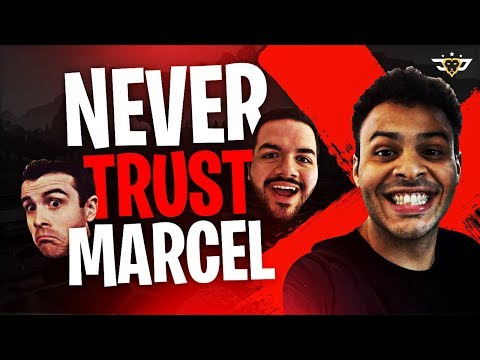 NEVER TRUST MARCEL! AFTER DARK WITH LUPO AND BASICALLYIDOWRK (Fortnite: Battle Royale)