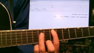 Guitar lessons online Blue Oyster Cult Godzilla tab