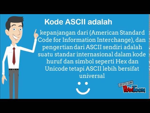 Kode ASCII - YouTube