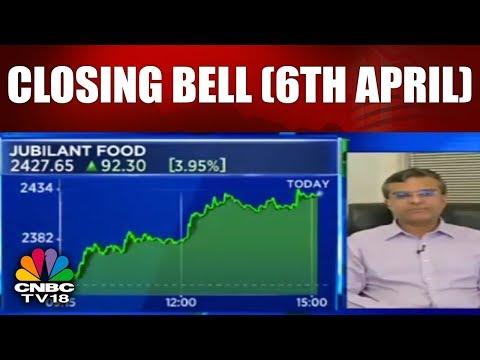 Closing Bell (6th April)   Sensex, Nifty End Flat Amid US-China Trade War Woes; Lupin, Titan rally