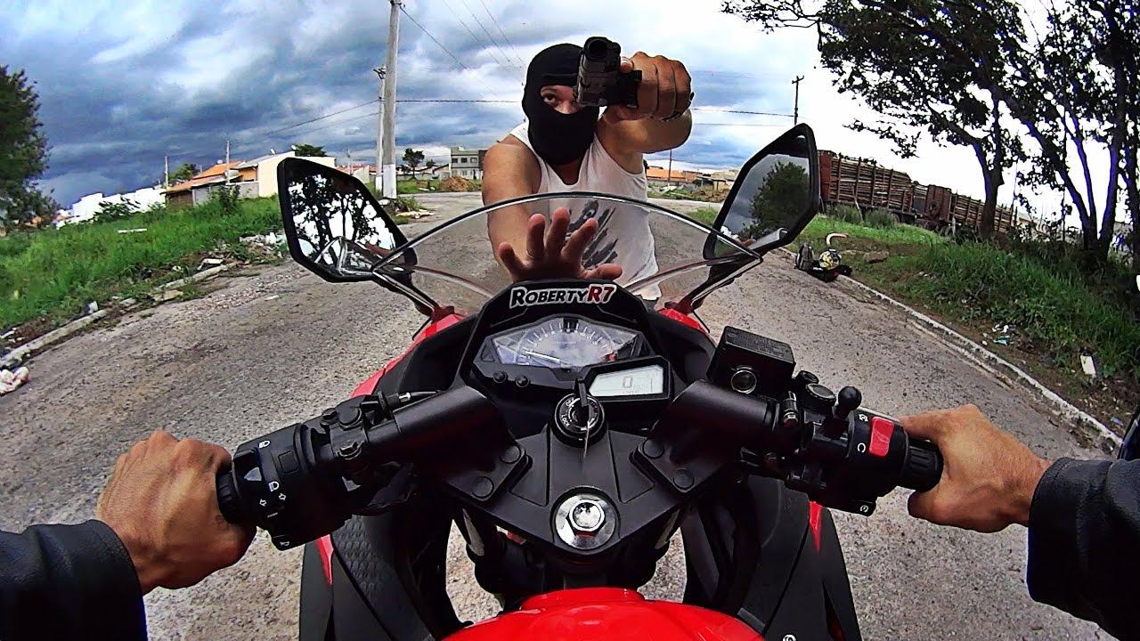 7 tipos de assalto de motos youtube. Black Bedroom Furniture Sets. Home Design Ideas