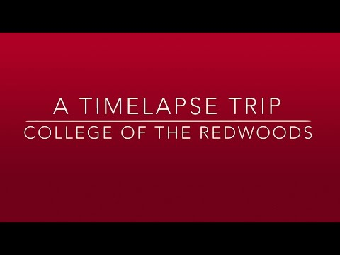 A Timelapse Trip - Morning at College of the Redwoods