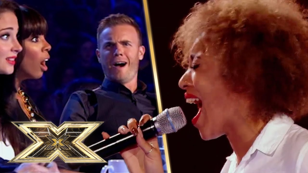 Download PHENOMENAL Whitney Houston covers!   The X Factor UK
