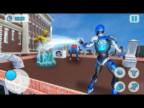 Superhero Frost Man City Rescue (by Top Action Studio) Android Gameplay [HD]