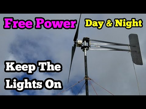 Super Fast Wind Turbine Powers My Home Upgrade