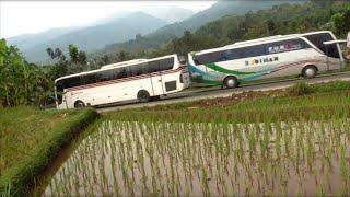 Bikin Kangen Mudik Lagi Eksotisme Bus Budiman Saat Melintasi Jalur Selatan Jawa Barat