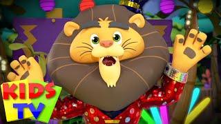 The Animal dance song | Animal Songs | Funny Dance | super supremes | kids tv