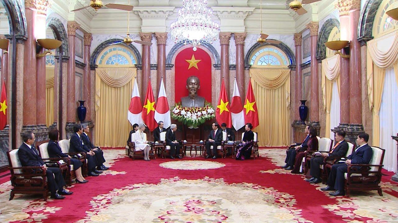 Nhà vua và Hoàng hậu Nhật Bản thăm cấp Nhà nước tới Việt Nam