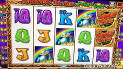 Rainbow Riches Pots Rollin!! Free spins&Novomatic play(£500 Cab) See description