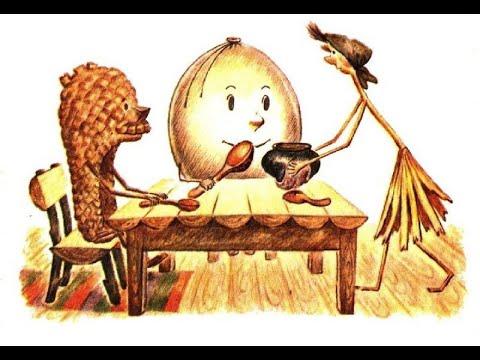 Пузырь соломинка и лапоть, Л. Н. Толстой: волк и старуха ...