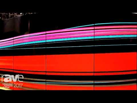 ISE 2017: LG Showcases Dual-view Curved Tiling OLED Signage Application