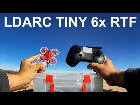 LDARC TINY 6X 65mm Micro FPV RC Drone RTF