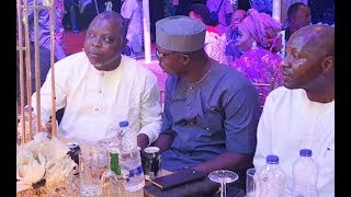 Dele OduleMr LatinOkunnu  Other Enjoying Themselves At Ibrahim Chatta movie premiere
