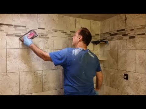 Cool How To Grout Tile Wall Contemporary - The Best Bathroom Ideas ...
