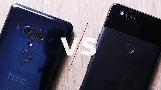HTC U12 Plus (U12+) versus Pixel 2 camera comparison