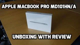 Apple Macbook Pro MD101HN/A 13-inch Laptop Unboxing (2016)