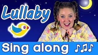 Sing Along - Lullaby Sleepy Head, kids bedtime song with lyrics