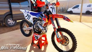 125 2 Stroke Supercross with Max Vohland - Motocross Action Magazine