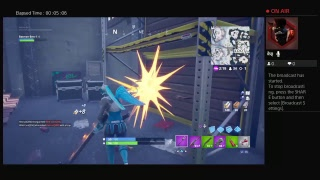 Fortnite ps4 game play #3