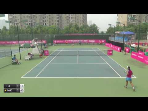 Lu Jia-Jing v Jaksic Jovana - 2017 ITF Wuhan
